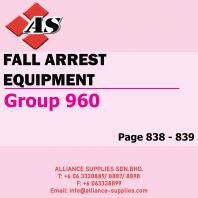 Fall Arrest Equipment (Group 960)