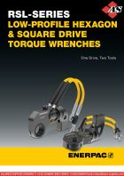 ENERPAC RSL Series Low-Profile Hexagon & Square Drive Torque Wrenches