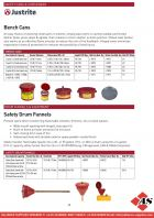 Safety Cans & Containers / Drum Funnels & Equipment