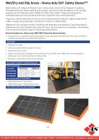 Wet/Dry and Oily Areas - Heavy duty 549 Safety Stance™