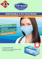 Top Mask 3-ply Disposable Face Mask