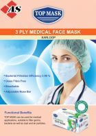 Top Mask 3-ply Medical Face Mask (Conforms To ASTM F2100 Level 1)