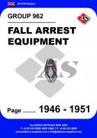 962 - Fall Arrest Equipment