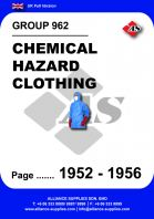 962 - Chemical Hazard Clothing