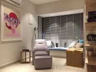 TB 06 Timber Blinds Installation Sevices in JB and Singapore