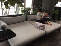 Resort Big Set Sofa In Malaysia Hotel