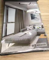 Sofa Bed With Carpet & Curtain