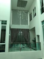 High Ceiling Blinds & Curtain In Jb