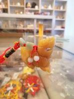 黄玉貏貅吊饰