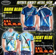 SENSES JERSEY METAL JACK-DARK & LIGHT BLUE