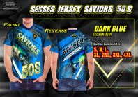 SENSES JERSEY SAVIORS 50S-DARK BLUE