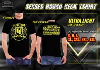 SENSES ROUND NECK TEE SHIRT-ULTRA LIGHT