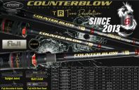 COUNTERBLOW TR - BAITCASTING ROD