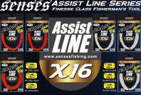 JIGGER ASSIST LINE 3M X16 WITH SPLICING NEEDLE 100LB
