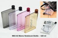 M60_A5 Memo Notebook Bottle