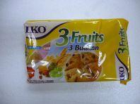 IKO 3 FRUITS CRACKER 178GM