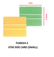 KTM SIDE CARD (SMALL)
