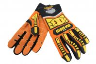 Seibertron High-Vis SDX2 Resistant Reducing Anti-Impact Mechanics Heavy Duty Safety Rescue Gloves CE EN388 4232