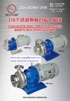 S/Steel Magnet Pump Equivalent to Sanwa Magnet Pump