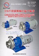 Sanwa Hydrotech S/Steel Magnetic Pump