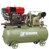 Swan HVU-203E Air Compressor with Yanmar LA178 Diesel Engine 6HP, 12Bar, FAD270L/min, 960rpm
