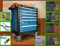 6 Drawer Tool Cart With 121pcs Tools ID32026