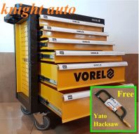 Free 1/2 Air Impact Wrench-  Vorel YT-58539 6 Drawer Tool Chest Only ID30379