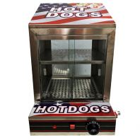 Hotdog Steamer Warming Showcase FNP-644