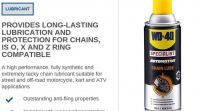 WD40 SPECIALIST AUTOMOTIVE CHAIN LUBE