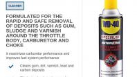 WD40 SPECIALIST AUTOMOTIVE THROTTLE BODY, CARB & CHOKE CLEANER
