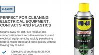 WD40 SPECIALIST FAST DRYING CONTACT CLEANER