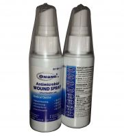 ONANO®.ros Antimicrobial Wound Spray (60ml) : for  - DIABETES FOOT (KENCING MANIS) �C Burn (MELECUR)  - Infection  - kanser radiotion theraphy melecur
