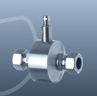 VANE WHEEL MEASURING TUBE 18.2 MM UP TO 100 °C
