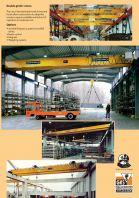 Kuli Double girder overhead crane