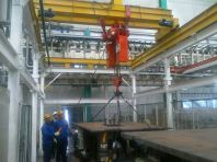 10 Ton Crane Load Test In Progress