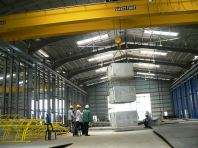 16 Ton Crane Load Test In Progress