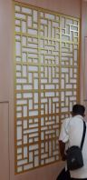 Office Divider Decoration cut by rounter or laser