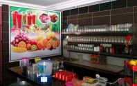 restoran wallstick backdrop posters for food n drinks advertising