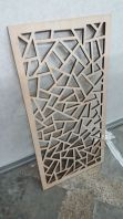 wood cutting design for divider or home decor