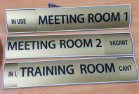 aluminium door holeder plate for moden office