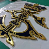 logo with Emboss epoxy