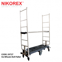 29727 - Six Wheels Roll Pallet