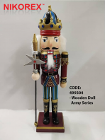 499304 - Wooden Doll Army Series
