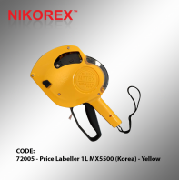 72005 - Price Labeller 1L MX5500 (Korea) - Yellow