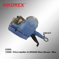 72006 - Price Labeller 2L MX6600 Num (Korea) - Blue