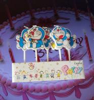 Doraemon Candle