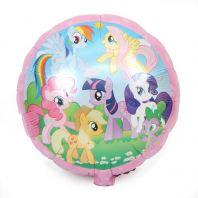 """Foil 18 """" unicorn horses"""