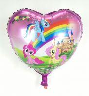 "Foil 18 "" Unicorn Heart"