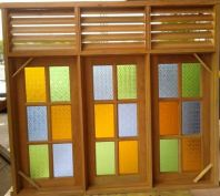 Top Hung Fix Louver Window