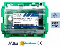 RAY-4 Ethernet Data Logger with Analog In and Digital I/O